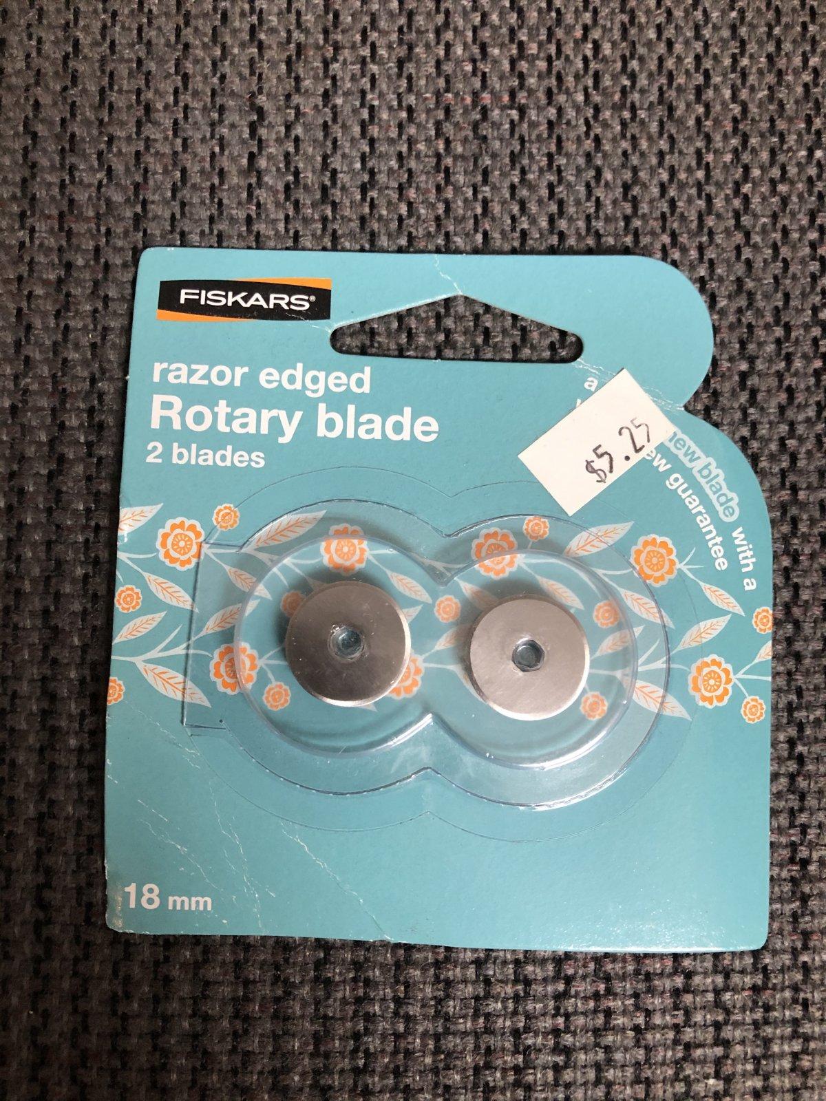 Razor Edge Rotary Blade 18mm