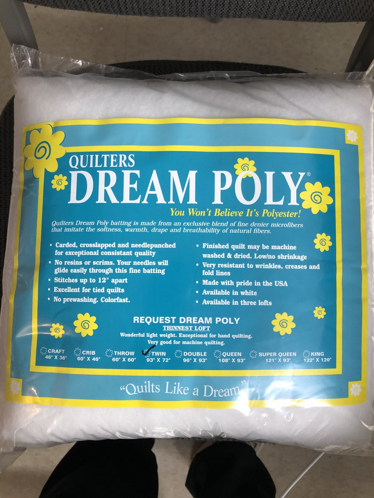 Dream Poly Request Thinnest Twin