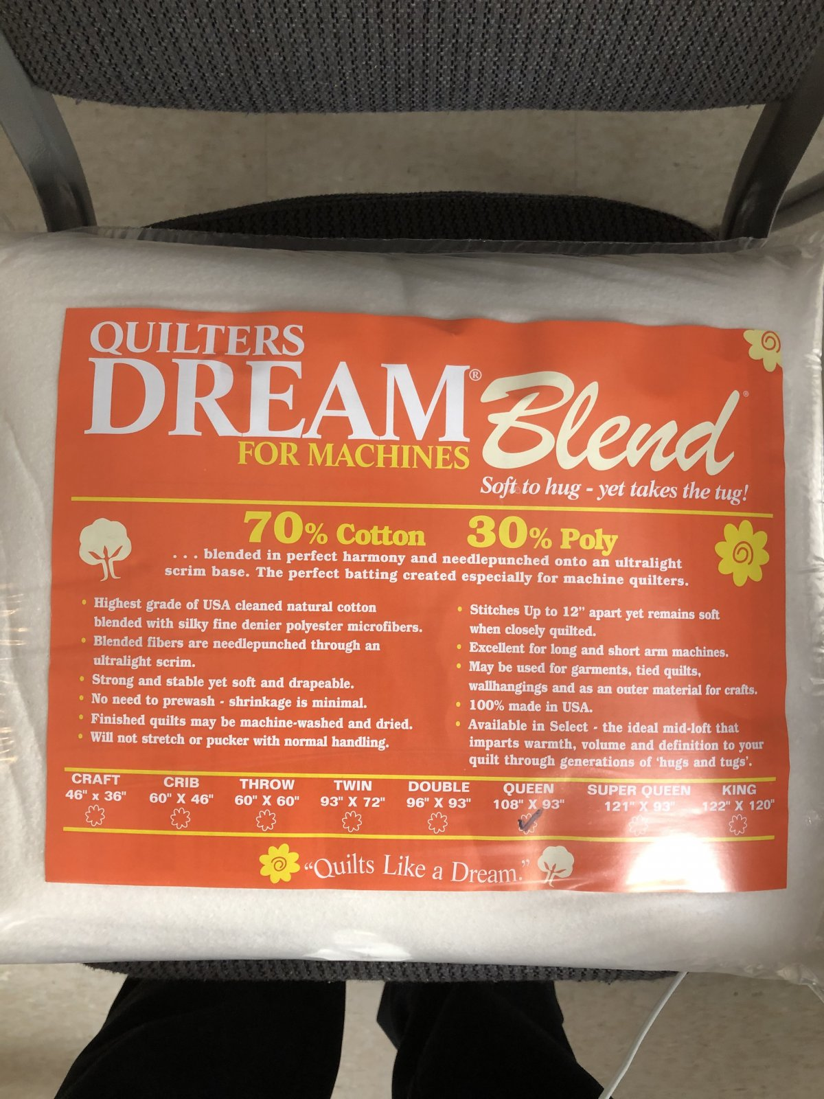 Dream Blend for Machines Select Queen Mid Loft