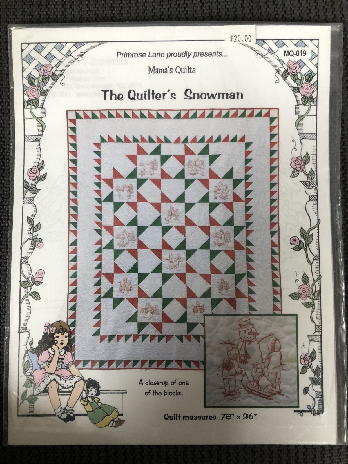 Quilter's Snowman, The