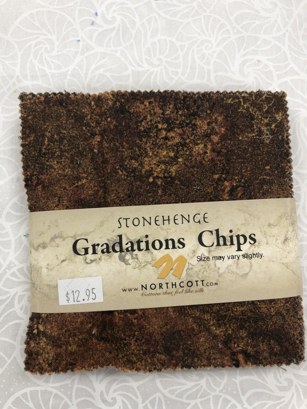 Stonehenge Iron Ore Graduation Chips 42 5in sq.
