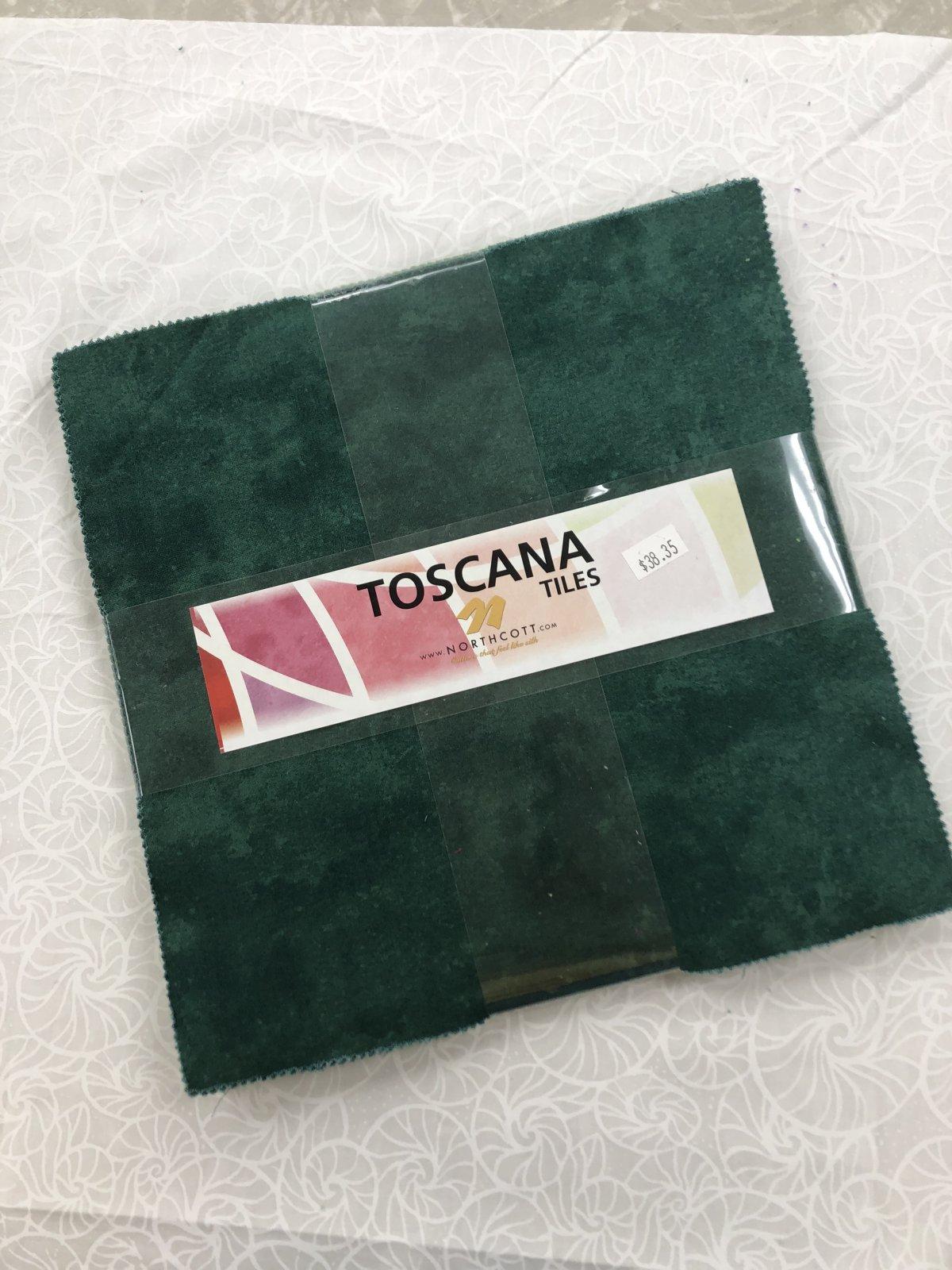 Toscana Rainforest Tiles 42 10in sq.