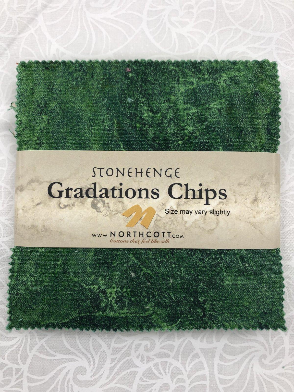Stonehenge Rainforest Chips Graduations 42 Pcs 5Squares