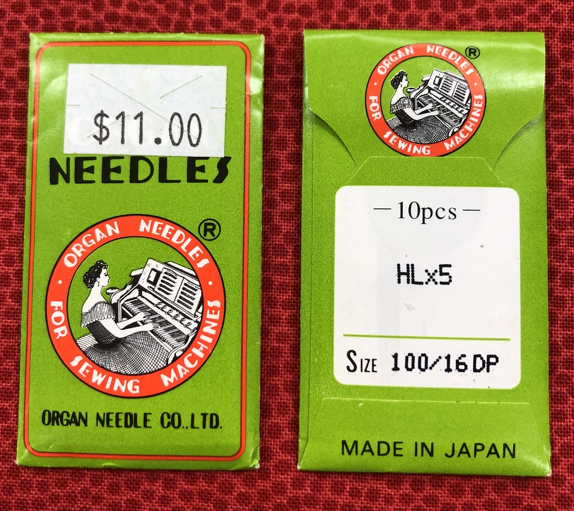 Organ Needles HLx5 16/100 DP 10pk