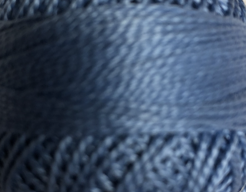 Finca Perle Cotton Sz 5 2-ply 10gm Medium Delft Blue