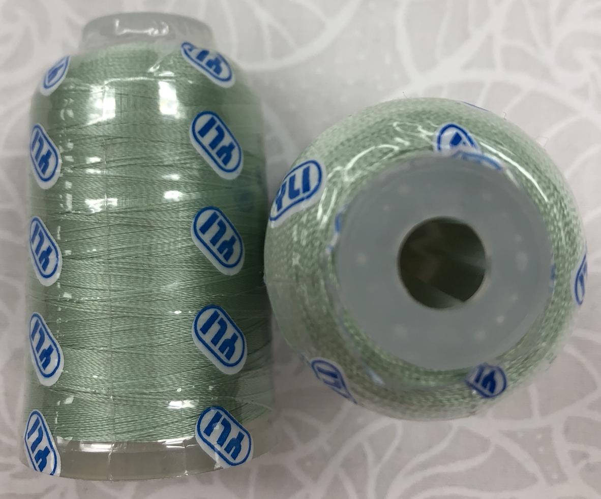 YLI Ultra Sheen #020 Sea Green Acrylic Embroidery 750yds