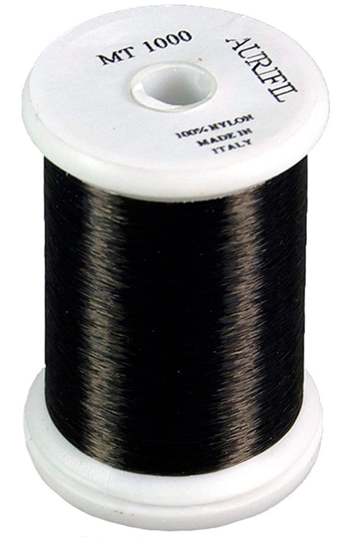 Aurifil MT1000 Black 100% Nylon  Monofilament Thread