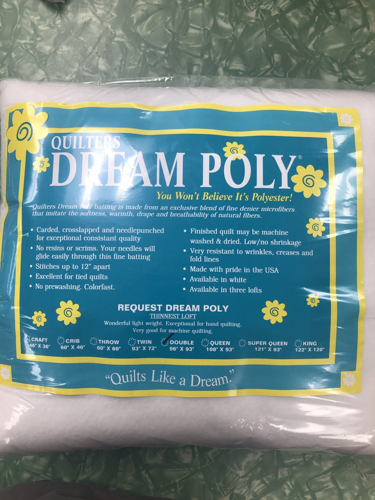 Dream Poly Request Thinnest Double