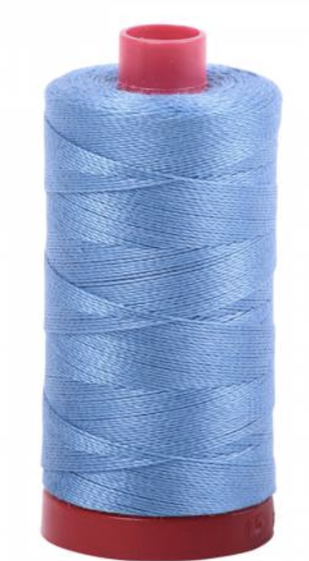 Aurifil #2725 Lt. Wedgewood Cotton Thread Solid 12wt