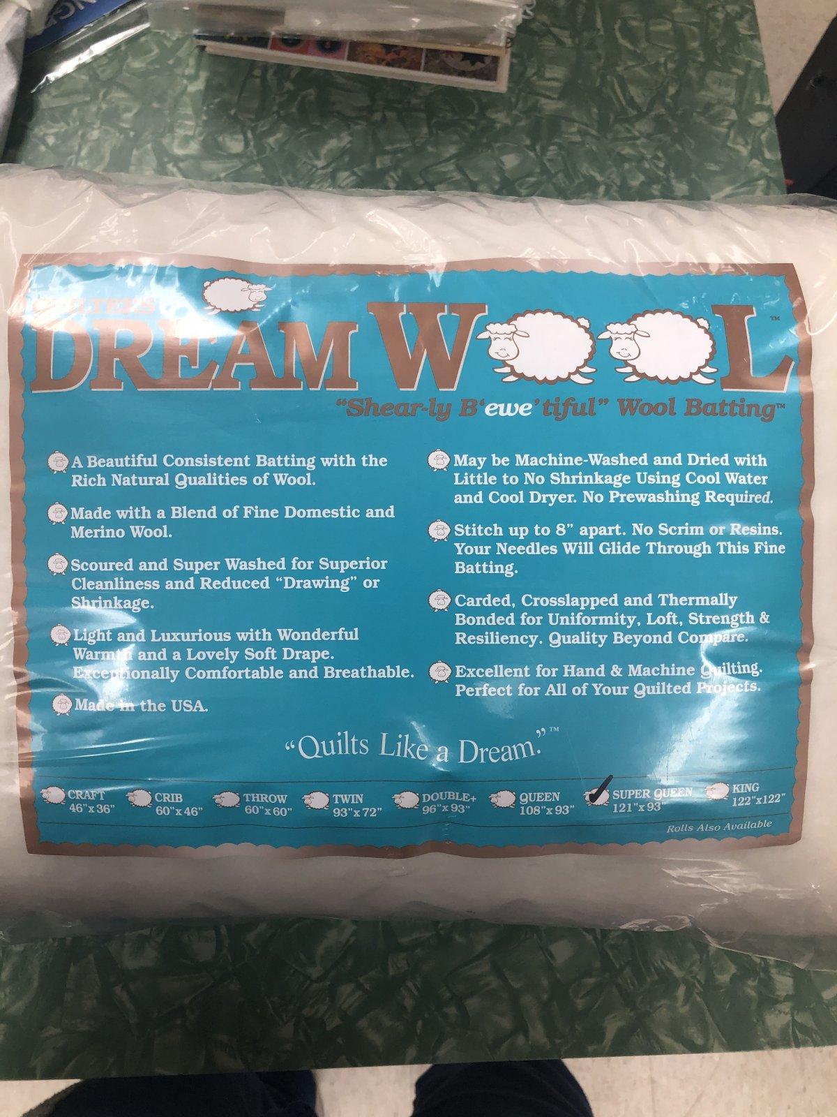 Dream Wool Super Queen Light Yet Lofty