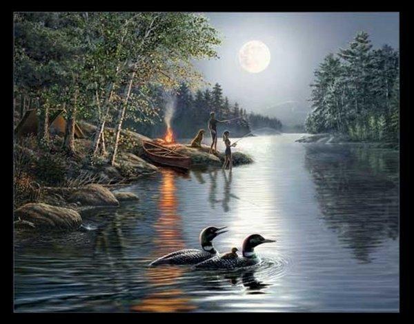 Angler's Moon 35 Panel