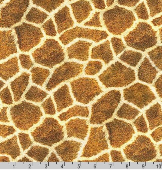 Animal Kingdom Giraffe Skin Fabric by the Yard