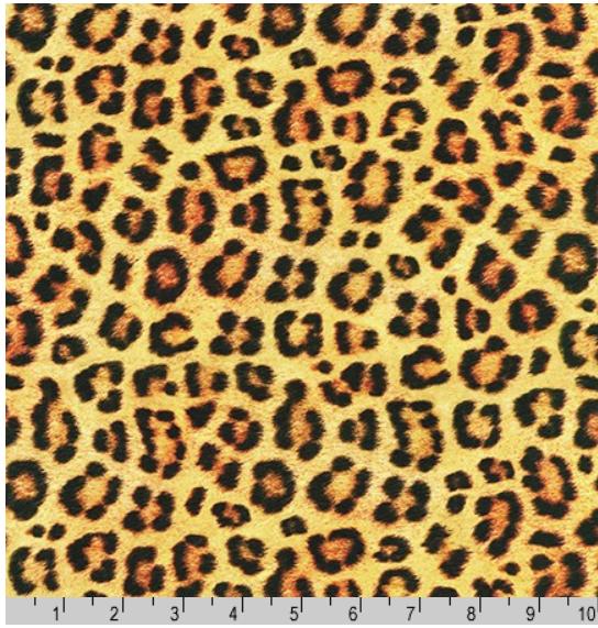 Animal Kingdom Jaguar Skin Fabric by the Yard