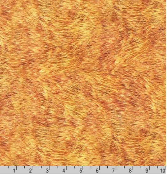 Animal Kingdom Lion Fur - fabric by the yard