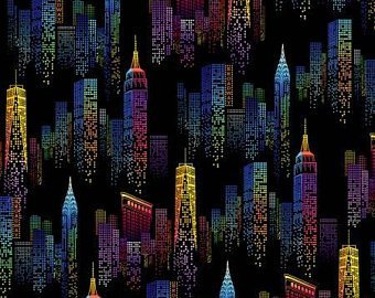 City Scape in Neon One of a Kind 50905-1