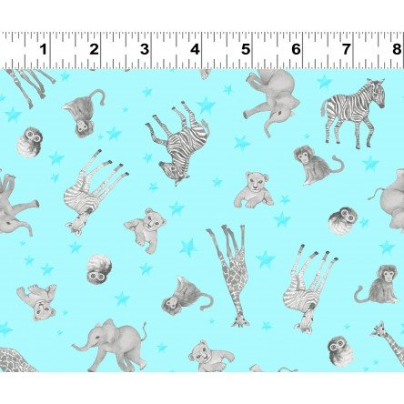 Baby Safari by Crimi-Trent Aqua Baby Animals