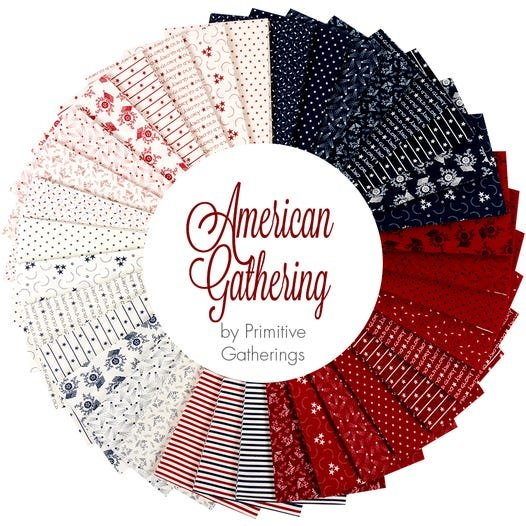 American Gathering AB 36 Fat Quarter bundle