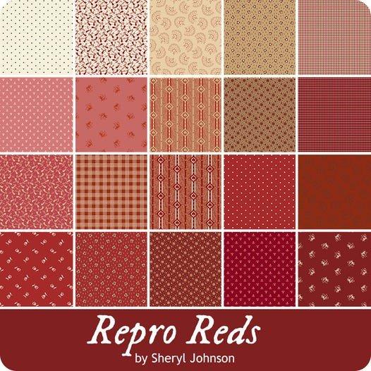 Repro Reds by Sheryl Johnson 2 1/2 Strips