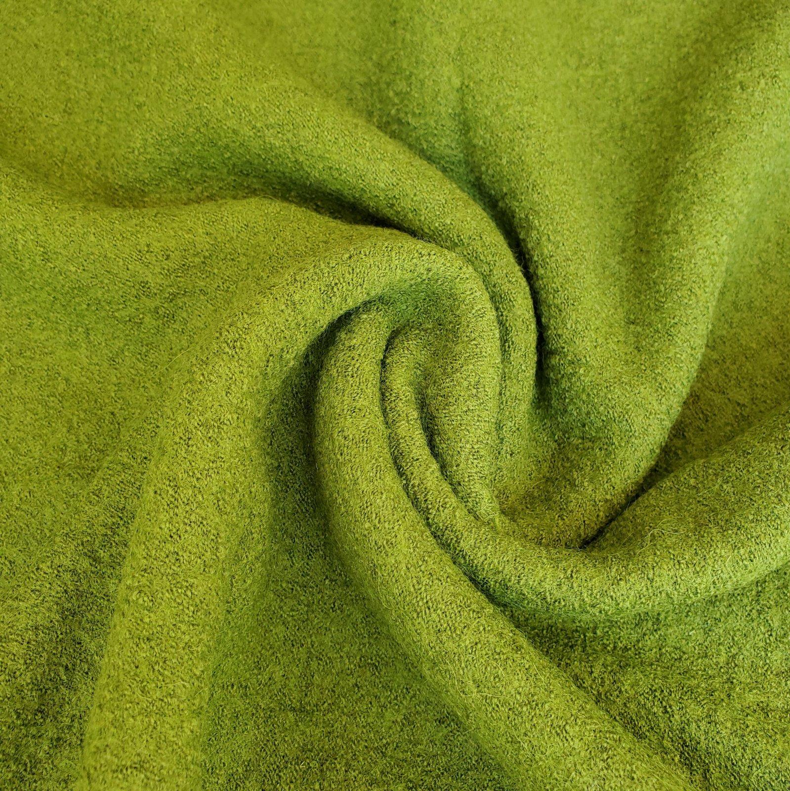 Boiled wool/rayon knit-FF-01425