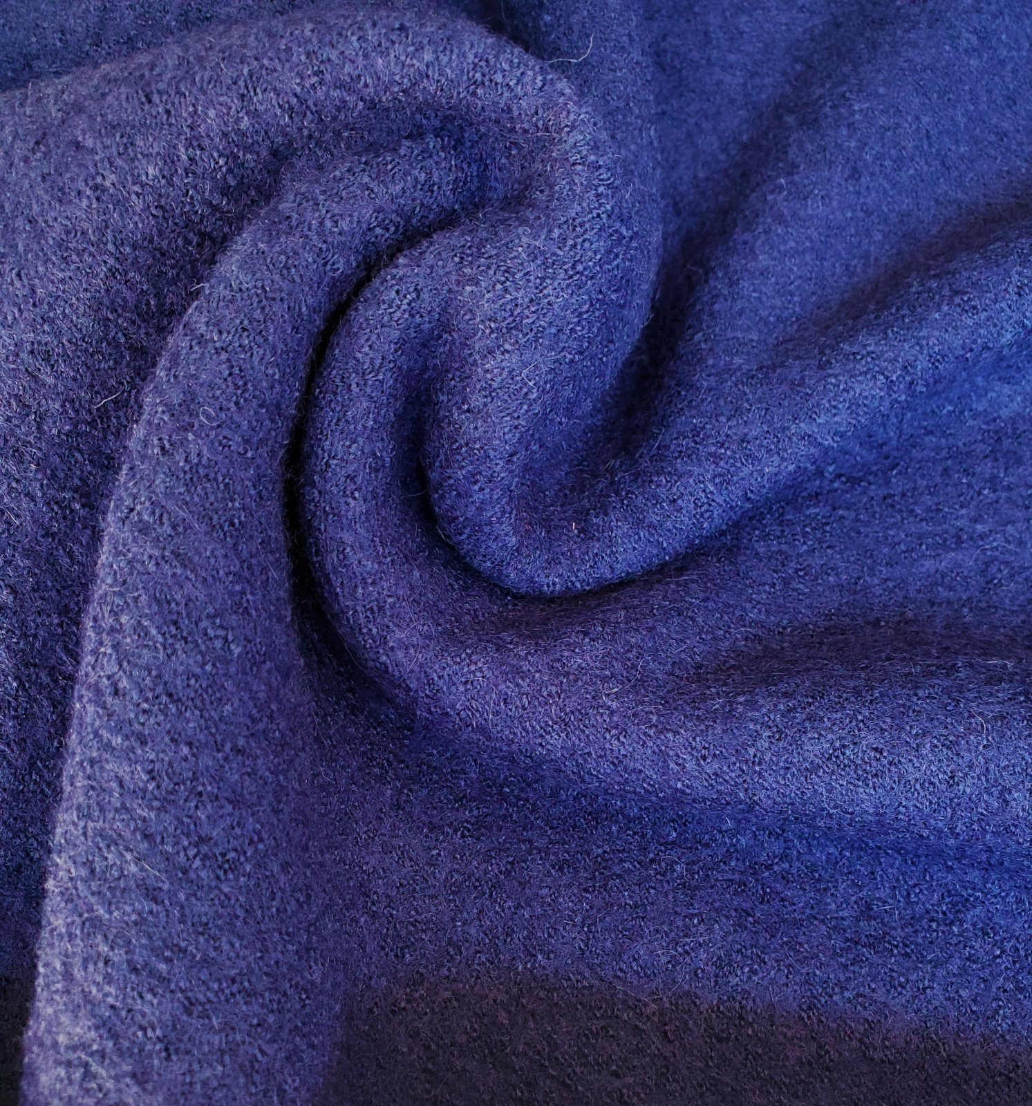Boiled wool/rayon knit-FF-01427