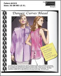 Danger Curves Ahead pattern