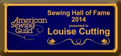 Sewing Hall of Fame Award