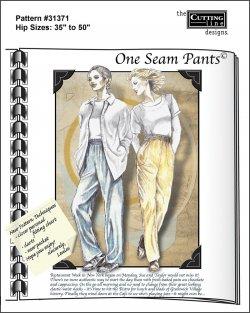 One-Seam Pants pattern