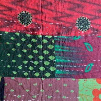 kantha cloth from India