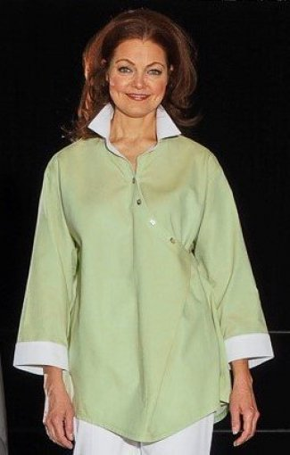 The Blouse Perfected in cotton