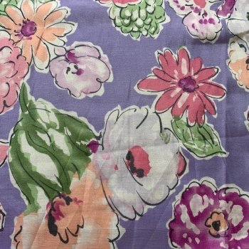 silk/cotton fabric