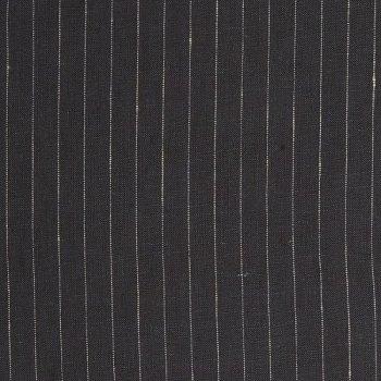 pinstripe linen