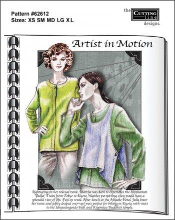 Artist in Motion pattern