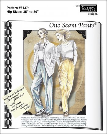 One-Seam Pants pattern