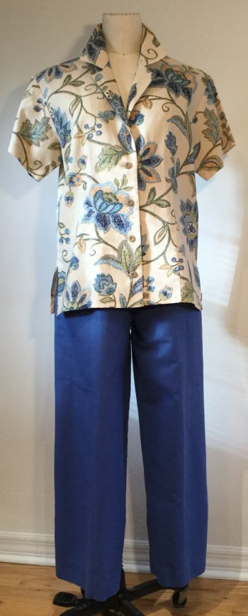 Easy Ageless Cool and One-Seam Pants