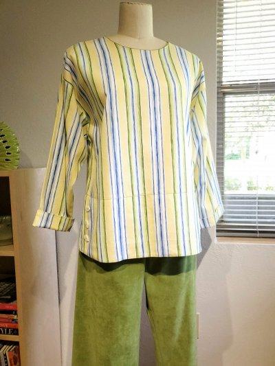Fun with Fabric, One-seam Pants