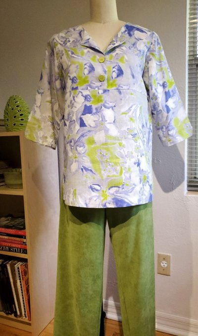 Ebb and Flow, One-Seam Pants