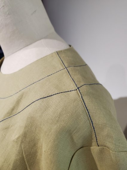 Twist and Shout view B shoulder detail