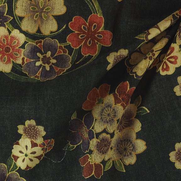 Cotton woven print from Japan-FF-01115