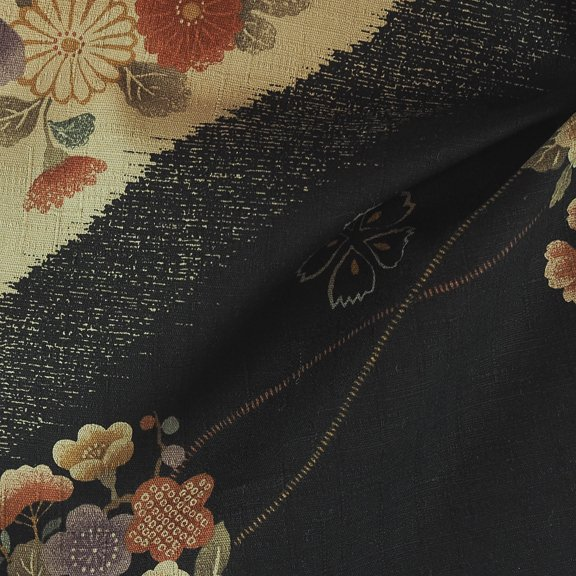 Cotton woven print from Japan-FF-01124