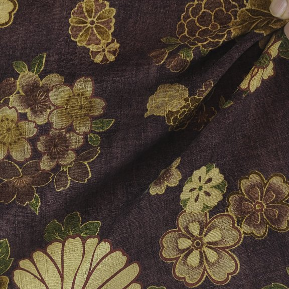 Cotton woven print from Japan-FF-01129