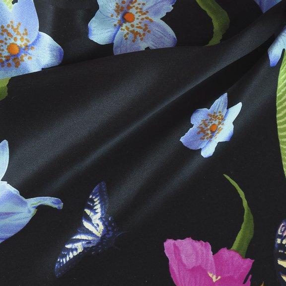 Silk charmeuse print-FF-00776