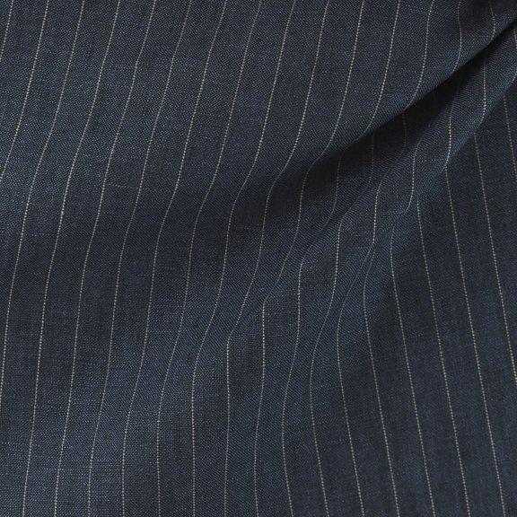 Linen woven pinstripe-FF-00799