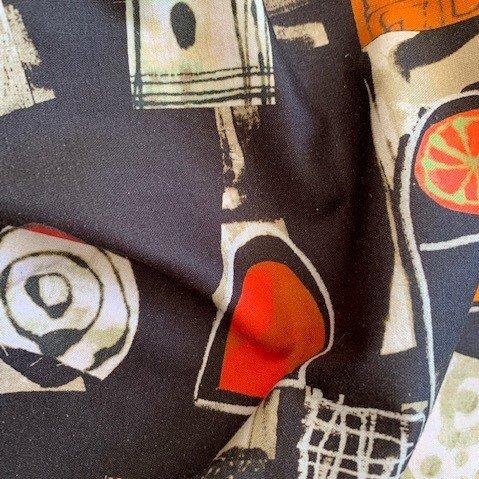 Cotton woven print-FF-00855