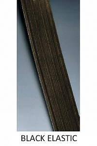 Soft Stitch Through Elastic (BLACK)