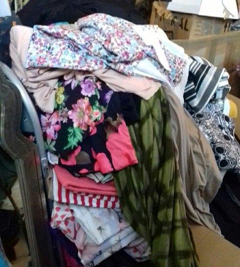Terry Fox's fabrics