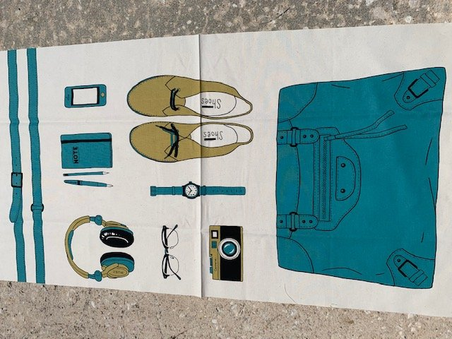 Cotton canvas for tote-EB-00418