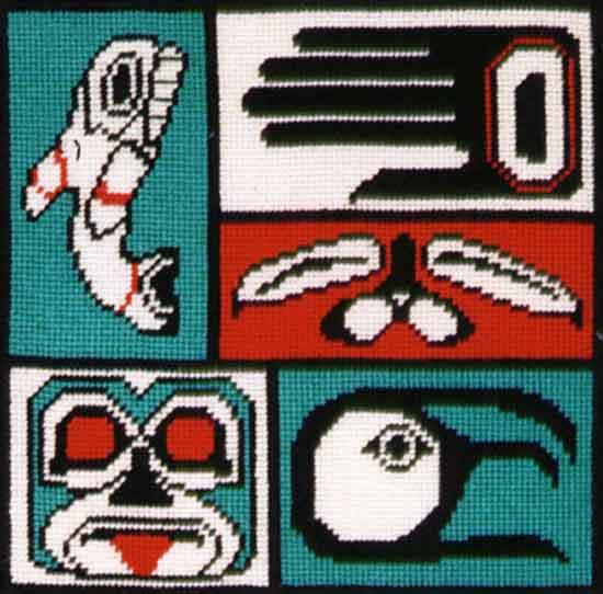 Native Sampler 9 x 9 Chart