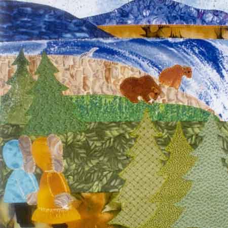 Brown Bear 10 x 10 Pattern