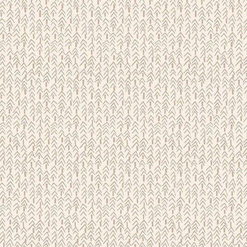 Folk Art Flannels III - Tweed Trees Cream