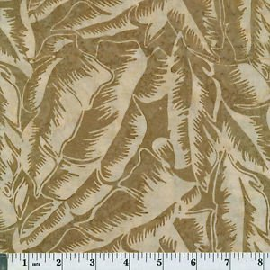 BALI HANDPAINTS TROPICAL LEAVES